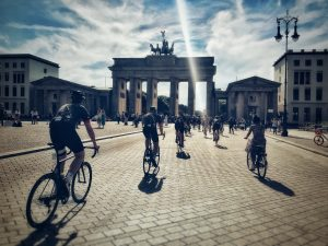 Connection - David Blair - Brandenburg Gate