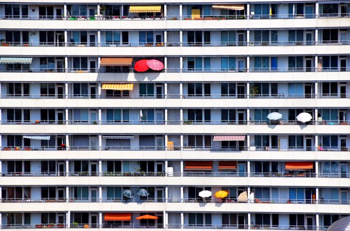 Jim Hindle - Connection - overall winner - an apartment block located on Spandauer Street Berlin from the dome of Berlin Cathedral